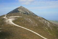 Croagh Patrick mountain Stock Photography