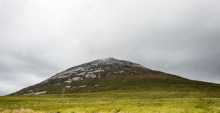 Croagh Patrick mountain Stock Photo