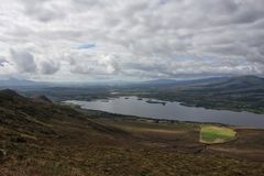 Croaghmoyle山自然遗产地区 免版税库存照片