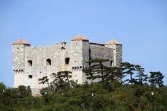 Croatia. Famous Fortress Nehaj in Senj, Croatia Royalty Free Stock Photos