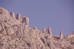 Croatia. The Velebit mountains in Croatia royalty free stock photos
