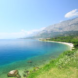 Croatia. Summer view of Adriatic in Croatia Royalty Free Stock Images
