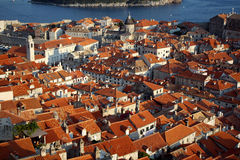 Croatia. View on old city Dubrovnik, Croatia Stock Photography
