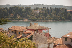 Croatia. The Republic of Croatia is in Europe at the crossroads of Central Europe, the Balkans, and the Mediterranean Royalty Free Stock Photography