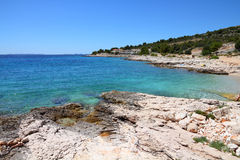 Croatia - Adriatic coast Royalty Free Stock Photo