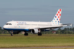 Croatia Airlines Airbus A320-214 Royalty Free Stock Photos