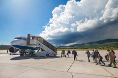 Croatia Airlines Airbus A319 Royalty Free Stock Image