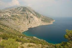 croatia berg near pisak Royaltyfria Bilder