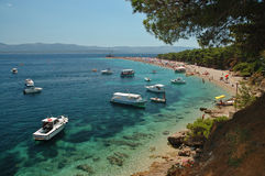Croatia -Brac - Bol Royalty Free Stock Images