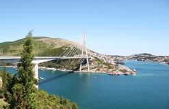Croatia bridge Royalty Free Stock Photography