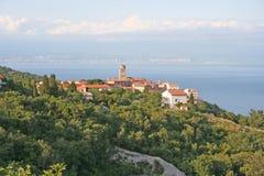 CROATIA-Brsec. CROATIA,Kvarner,Liburnia,Brsec,Histria royalty free stock image