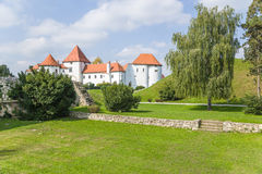 Croatia. Castle of Varaždin Royalty Free Stock Photo