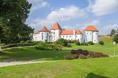 Croatia. Castle of Varaždin Royalty Free Stock Images