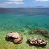Croatia coast Stock Photography