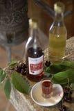 Croatia - conhaque da cereja fotos de stock
