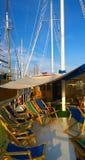 Croatia, cruise boat deck Stock Photography