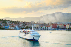 Croatia cruise ship Royalty Free Stock Photo