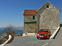croatia dalmatian dom Obrazy Royalty Free