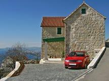 Croatia - Dalmatian house  Royalty Free Stock Images