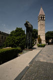 croatia delad staty Fotografering för Bildbyråer