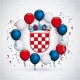 Croatia design Stock Photos