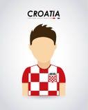 Croatia design Stock Photo