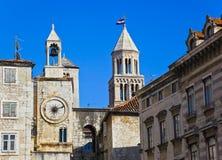 croatia diocletian pałac rozłam obraz stock