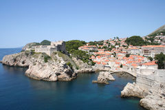 Croatia-Dubrovnik Royalty Free Stock Photography