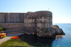 Croatia-Dubrovnik. CROATIA city of Dubrovnik-Wall Royalty Free Stock Photos