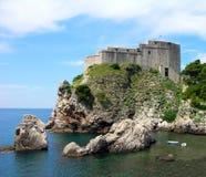 croatia dubrovnik fästninglawrence st Fotografering för Bildbyråer