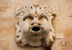 Croatia Dubrovnik fountain figure Royalty Free Stock Photos