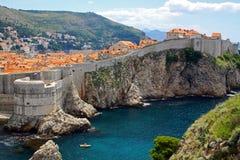 croatia dubrovnik gammal town Royaltyfri Foto