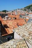 croatia dubrovnik gammal town Balkans Adriatiskt hav, Europa Carpathian Ukraina, Europa Royaltyfri Fotografi