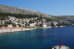croatia dubrovnik gammal town Balkans Adriatiskt hav, Europa Carpathian Ukraina, Europa Arkivfoto