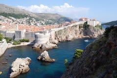 croatia dubrovnik gammal town Balkans Adriatiskt hav, Europa Carpathian Ukraina, Europa Royaltyfria Foton