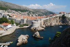 croatia dubrovnik gammal town Balkans Adriatiskt hav, Europa Carpathian Ukraina, Europa Royaltyfri Foto