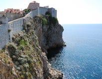 croatia dubrovnik gammal town Balkans Adriatiskt hav, Europa Carpathian Ukraina, Europa Royaltyfri Bild