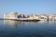 croatia dubrovnik historisk town Royaltyfri Fotografi