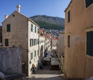Croatia. Dubrovnik - July 22, 2018. Overview to the old town. stock image