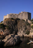 Croatia Dubrovnik Lovrijenac Fort Royalty Free Stock Photography