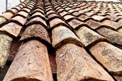 Croatia, dubrovnik, old roof tiles Stock Photos
