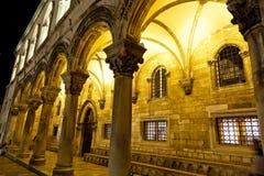 croatia Dubrovnik pałac rektor s zdjęcia royalty free