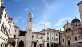 croatia Dubrovnik placu stradun Zdjęcia Royalty Free