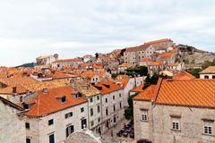 Croatia, dubrovnik, rooftops Stock Photo