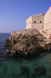 Croatia Dubrovnik Saint John Fortress Stock Photography