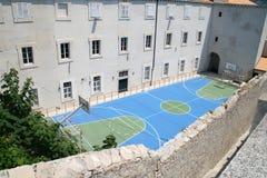 croatia dubrovnik stadion Arkivbild