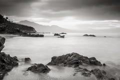 croatia Dubrovnik wysp lokaci śródziemnomorski pobliski zmierzch zdjęcie royalty free