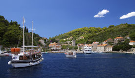 Croatia: Elafiti islands Royalty Free Stock Photos