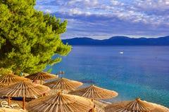 croatia Europa gradac Royaltyfri Bild
