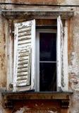 croatia fönster royaltyfri foto